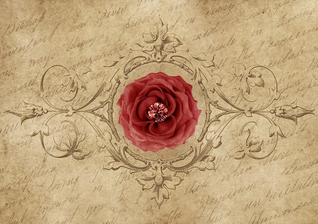 written-message-rose